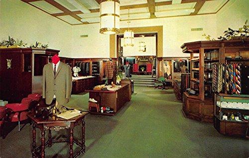 Postcard Harvey's Ltd. Men's Clothing Store in Pasadena, - In Stores Pasadena