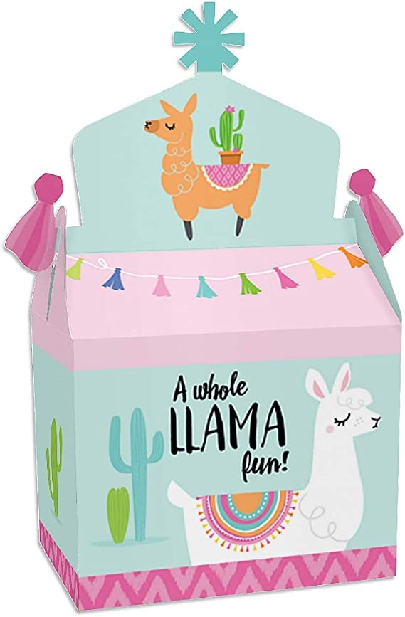 Llama Candy Boxes Set of 16 or 32 in 3 Sizes with Free Shipping