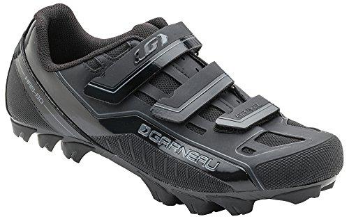 Louis Garneau - Gravel Bike Shoes, Black, US (13), EU (Freeride Mountain Biking)