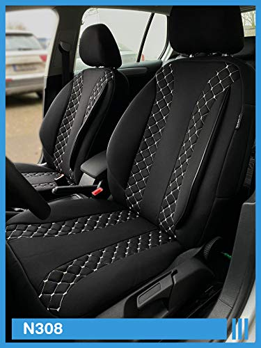 Maat stoelhoezen compatibel met Mercedes Vito Viano W639 bestuurder en passagiers vanaf kleurnummer: N308