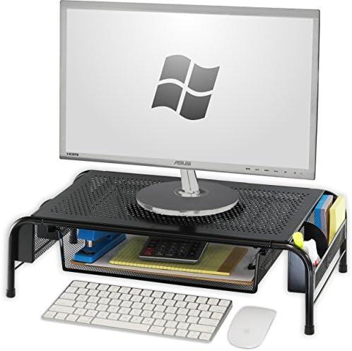 SimpleHouseware Metal Monitor Organizer Drawer product image
