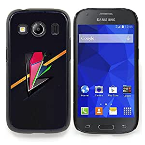 Stuss Case / Funda Carcasa protectora - Resumen de oro rosa minimalista - Samsung Galaxy Ace Style LTE/ G357