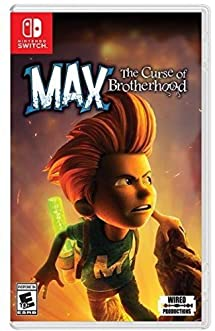 Max The Curse of Brotherhood - Nintendo Switch