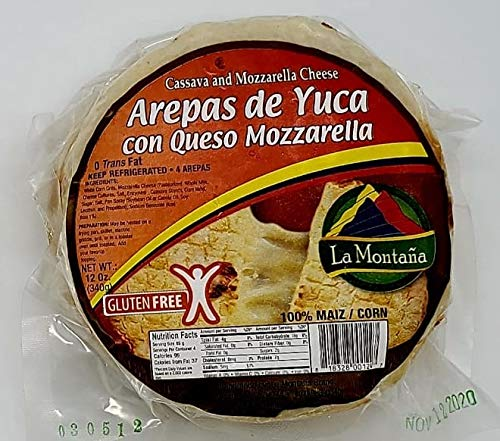 Arepas Colombianas Arepa De Yuca Amazon Com Grocery Gourmet Food