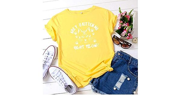 JFCDB Camiseta de Verano,Pattern Print T-Shirt Aesthetic ...