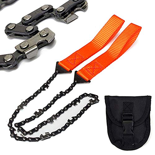 Outdoor Hand-Held Wire Saw, Hand Saw, Portable Pocket Logging Chain Saw, Survival Chain Saw