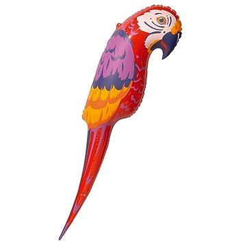 Hinchable loro verano Ara hinchable con forma de pájaro ...