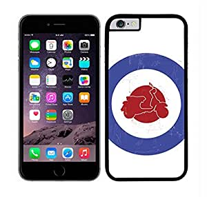 HARD CASE COVER FITS IPHONE 6 PLUS MOTORCYCLE BLUE AND by ruishername
