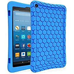 Fintie Silicone Case for All-New Amazon Fire HD...