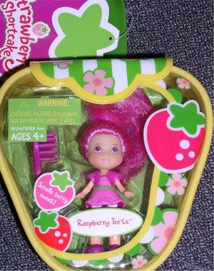 Strawberry Shortcake Hasbro Mini Doll in Purse Raspberry Torte (Strawberry Hasbro Shortcake Mini)