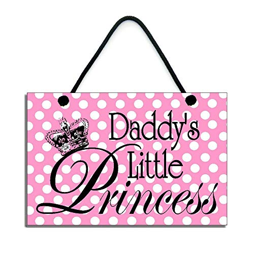 - Susie85Electra Daddys Little Princess Fun Home Decor Wood Signs Rustic Wall Plaque