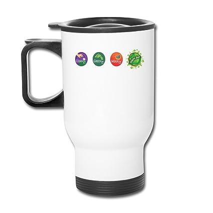 berink limpia Verde significa Día de la Tierra mano térmica taza de ...