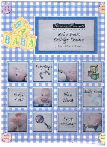 [해외]Special Moments Baby Years Collage Frame / Special Moments Baby Years Collage Frame