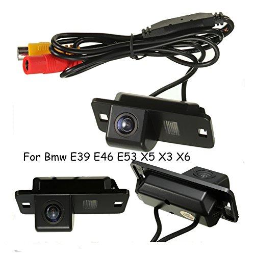 Voiture Caméra de recul, étanche Vision de Nuit Vue Arrière Back Up Caméra Recul à 170Degrés pour BMW Série 3/7/5E39E46E53 EPATH DIRECT