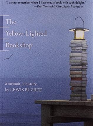 book cover of The Yellow-lighted Bookshop