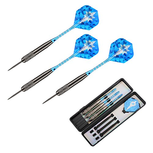 enkeeo-3-pack-steel-tip-darts-set-26-grams-with-aluminum-shafts-standard-pet-flights-tungsten-coatin