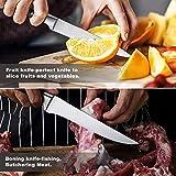 Knife Set, MAD SHARK 5-piece Kitchen Knife Set