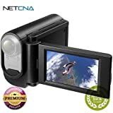Grip-Style LCD Unit for Action Cam Grip-Style LCD Unit for Action Cam With Free 6 Feet NETCNA HDMI Cable - BY NETCNA