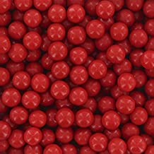 Red Pearl Candy Beads 6mm, 2 Pounds by Chef Alan Tetreault