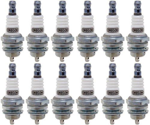 Oregon (12 Pack) 77-308-1-12pk Spark Plug Rpl Bosch WS7E Champ CJ6 NGK (Bm7a Spark Plug)