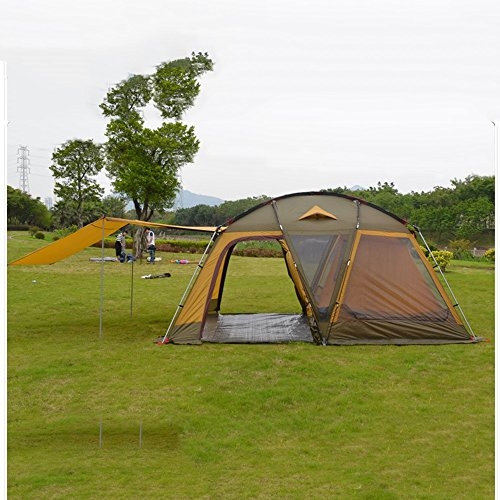 LJHA zhangpeng Tent One-bedroom Tent Outdoor Camping People Tent 450320210cm Family Camping Tents