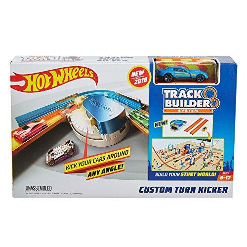 Hot Wheels Track Builder Custom Curve Kicker (Hot Wheels Paper)