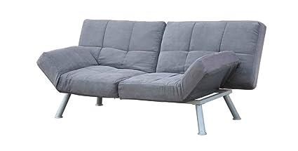 Amazon.com: Futon Sofa Bed Lounge Convertible Loveseats ...