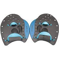 WINOMO 1paio Palette da Nuoto mano della Cazzuola per allenamento nuoto principianti adulti misura dei bambini M (Blu)