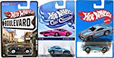 Retro Blue Hot Wheels Pontiac GT-03 Exclusive 2016 & Packin' pacer with Rea Riders + '85 Honda CR-X Cool Classics All metal Design Heritage Collection