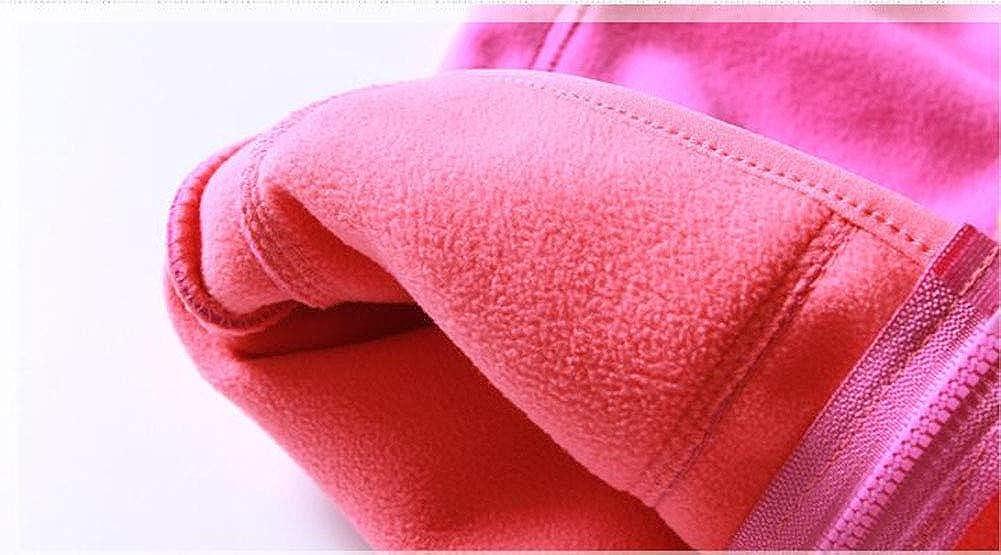 HAXICO Baby Boys Girls Hooded Vest Kids Soft Polar Fleece Winter Warm Zipper Up Waistcoat 2-8T