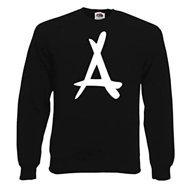 trvppy men s sweater jumper sweatshirt model kid ink tha alumni