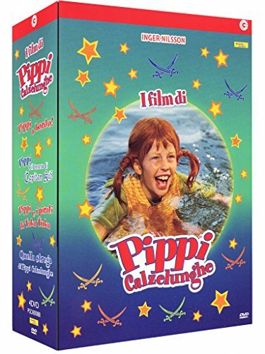 Pippi Calzelunghe - I Film (4 Dvd) by maria persson by