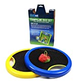 #5: OUTUGO Trampoline Disc Set/ Frisbee/ Bounce racket/ Rubber-band Bouncy Ball