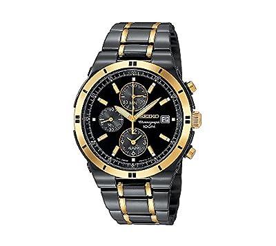 Seiko Men's Two-Tone Chronograph Dress Watch