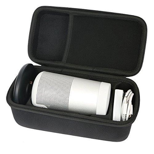 Khanka Travel Case for Bose SoundLink Revolve Bluetooth Speaker (Black for Revolve)