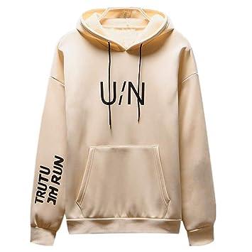 5c67e6e82b CCSDR Mens Hoodies Crosshatch Clearance Sale 2018 New Casual Men s Thermal  Tops Men s Autumn Winter Long Sleeved Letter Printed Sweatshirt Pocket  Hoodie ...