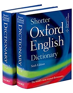 Buy Shorter Oxford English Dictionary Book Online at Low Prices in India |  Shorter Oxford English Dictionary Reviews & Ratings - Amazon.in