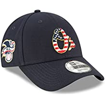 New Era Baltimore Orioles 2018 July 4th Stars and Stripes 9FORTY Adjustable Hat