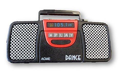 Acme Refrigerator (Refrigerator Sound Magnet Black Boom Box Acme by Acme)