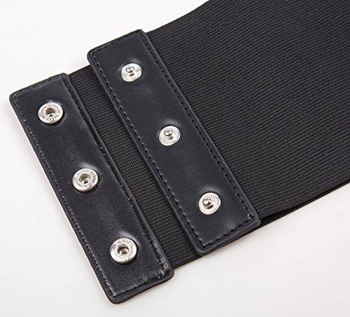 GRACE-KARIN-Lace-up-Cinch-Belt-Gothic-Steampunk-Corset-Elastic-Waist-Belt