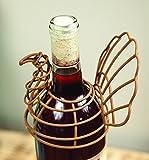 MW Turkey Wire Wine Bottle Topper Set of4 5.25X2.25X9