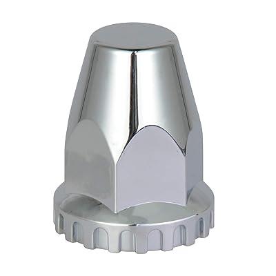 TBOZZ Chrome ABS Lug Nut Cover 33Mm4-3/4: Automotive