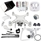 Darkhorse 11 In 1 Bundle Set For DJI Phantom 3 4 (Antenna Signal Booster, Car Charger, 9.7 Sunshade, Strap, Motor covers, Lens Cap, Silicone case, Mobile Mount, Thumb Stick, Lens Hood, Lens Protector)