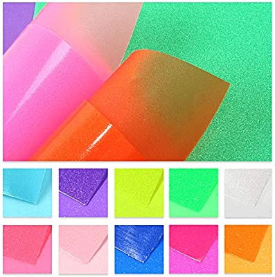David accessories Rainbow Metal Faux Leather Sheets Burst Crack Synthetic Leather Fabric 6 Pcs 8 x 13 for DIY Projects Earring Making Crafts 20 cm x 34 cm Crack Leather
