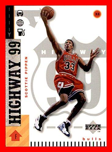 1998-99 Upper Deck #300 Scottie Pippen HOF CHICAGO BULLS