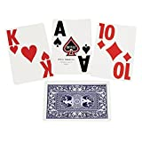 Super Jumbo Playing Cards Single Deck Blue