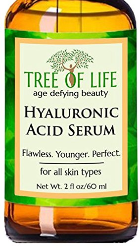 ToLB Hyaluronic Acid Serum for Skin - 100% Pure Hyaluronic Acid with Vitamin C + Natural Ingredients for Enhanced Moisturization - Paraben Free, Vegan - Best Hyaluronic Acid for Facial Care 2 fl oz