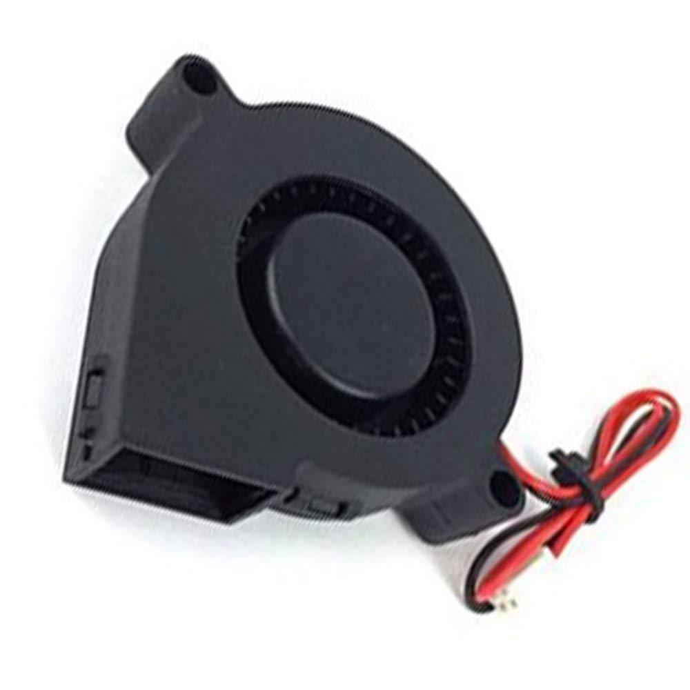 ReFaXi 1Pc Impresora 3D De Ventilador DC 12V 0.15A Cojinete de ...