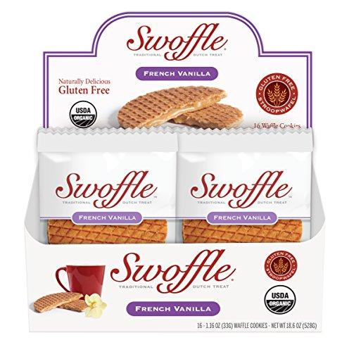 Swoffle - French Vanilla Stroopwafels (16 X 1.16oz)