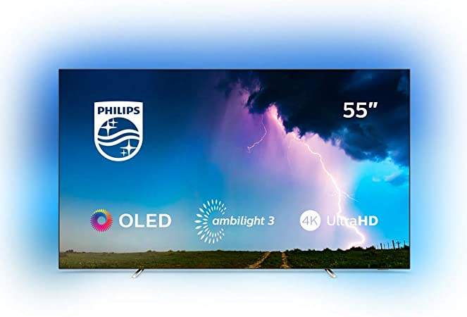 Philips 55OLED754/12 - Televisor Ambilight de SmartTV de 55 pulgadas con 4K UHD: 1262.03: Amazon.es: Electrónica